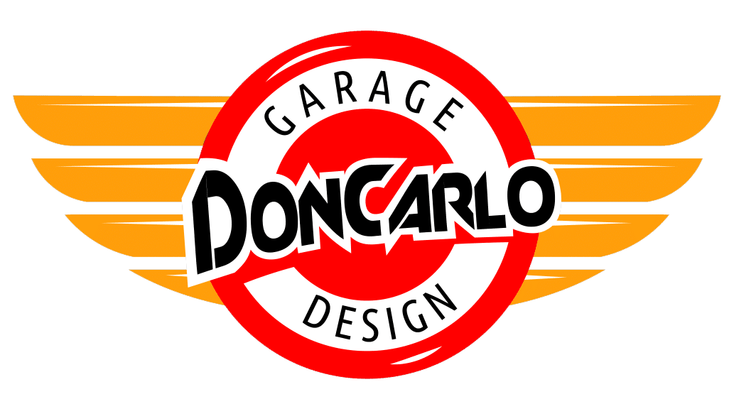 Don Carlo Garage design logo
